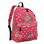 Batoh Lulu Floral Vintage – růžový
