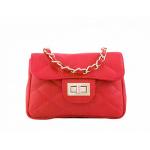 Kabelka Florence Perlita mini – červená červená