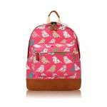 Batoh D.Fashion Birds Mania – růžový