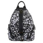 Batoh Jerry K-Fashion Leopard – černobílý