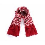 Luxusní šátek Dot Red