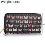 Peněženka LULU Butterfly Long – černá