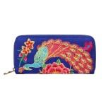Peněženka Peacock Fashion – modrá