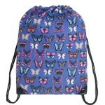 Vak Stylish Cool Butterfly – tm. modrý