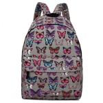 Batoh Lulu Butterfly – šedý