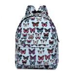 Batoh Lulu Butterfly – světle modrý