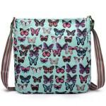 Kabelka Korra LULU Butterfly – zelená