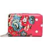 Peněženka Floral Vintage – růžová