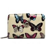 Peněženka LULU Butterfly – béžová