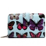 Peněženka LULU Butterfly – modrá
