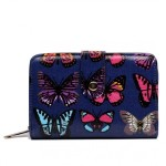 Peněženka LULU Butterfly – navy