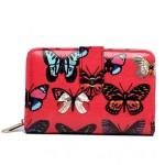 Peněženka LULU Butterfly – růžová
