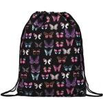 Vak Stylish Cool Butterfly – černý
