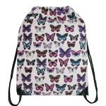 Vak Stylish Cool Butterfly – světle růžový