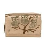 Peněženka Fashion Only Owl – zlatá