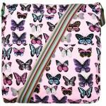 Kabelka Korra LULU Butterfly – světle růžová