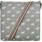 Kabelka Korra Horse Mania – šedá černá