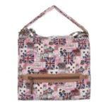 Kabelka K-Fashion British Jack HOBO II. – růžová růžová