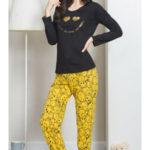 Dámské pyžamo dlouhé Úsměv – Vienetta
