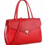 LUIGISANTO Červená městská taška