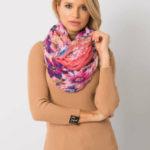 Korálový květinový šátek