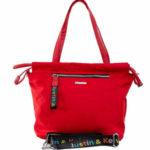 Dámská červená městská taška