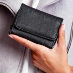 Černá dámská peněženka z ekokože