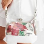 Bílá kosmetická taška