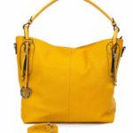 Dámská žlutá taška do města