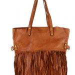 Přírodní kožená taška model 154345 Mazzini