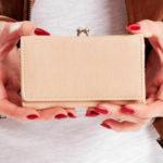 Dámská béžová peněženka s přihrádkou