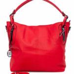 Červená dámská taška do města