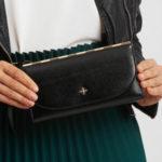 Elegantní černá peněženka