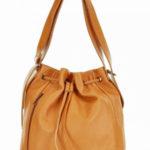Přírodní kožená taška model 154575 Mazzini