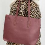 Nákupní taška Maroon