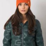 Oranžová čepice