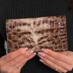 Hnědá peněženka ve zvířecích vzorech 64003-PT – FPrice