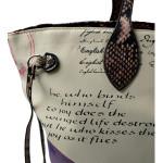 Barevná kabelka na rameno Letter