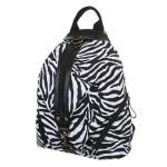 Batoh K-Fashion Zebra – černobílý