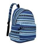 Batoh Lulu Aztec- modrý