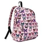 Batoh Lulu Butterfly – růžový