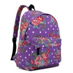 Batoh Lulu Vintage – fialový