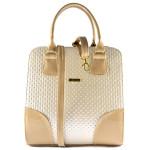 Béžová luxusní kabelka Keira