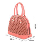 Borse Milano Bowling Quilted – modrá