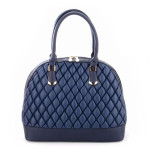 Borse Milano Bowling Quilted – navy
