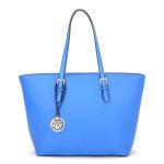 Borse Milano Classic Shopper – modrá