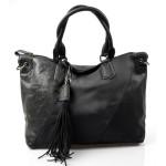 černá designová kabelka Mixes