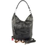Černá kabelka Delavee