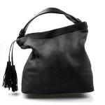 černá luxusní kabelka Elen