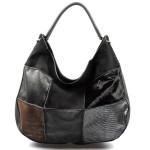 černá luxusní kabelka Italien